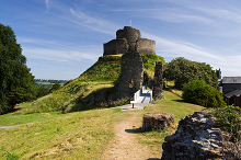 Launceston, The Castle, Cornwall © Copyright Mike Searle